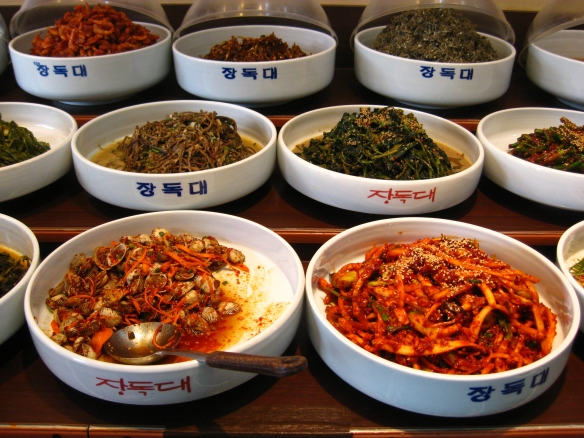 Shops that specialize in side-dishes are also good places to find different varieties of kimchi.